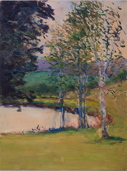 Image of Painting of pond