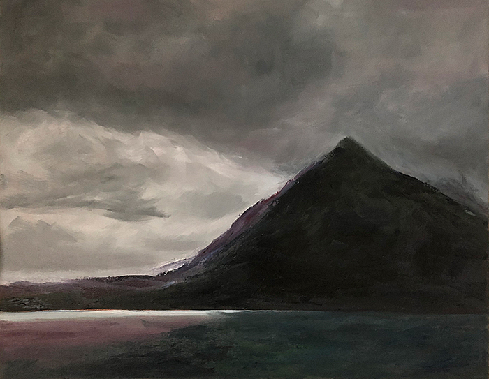 Image of Mountain from Elgol Beach