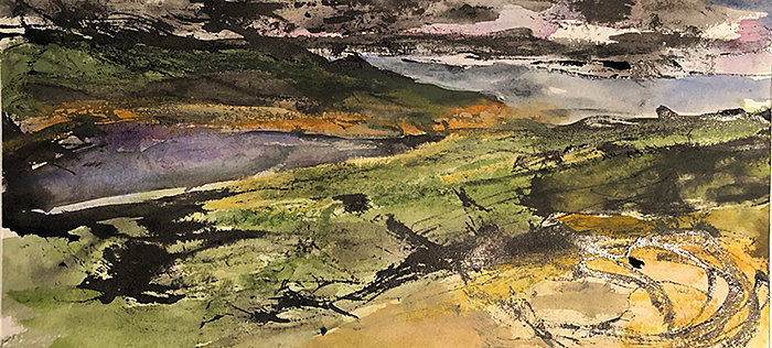 Drawing of Scotland