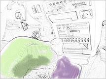 Tiffen Filter and Sketchbook for color
