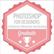 Photoshop for Designers Badge