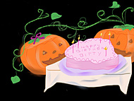 10.29: Pumpkins LOVE Cake!