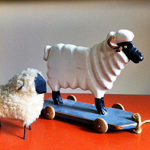 Toy sheep