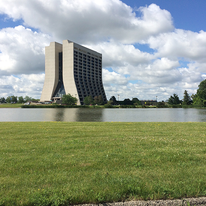 Image of Wilson Hall at Fermi Labs