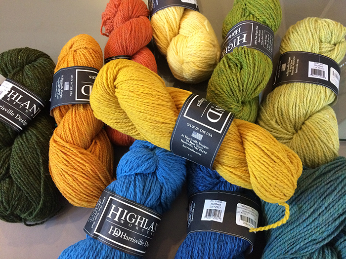 Image of Harrisville Yarns