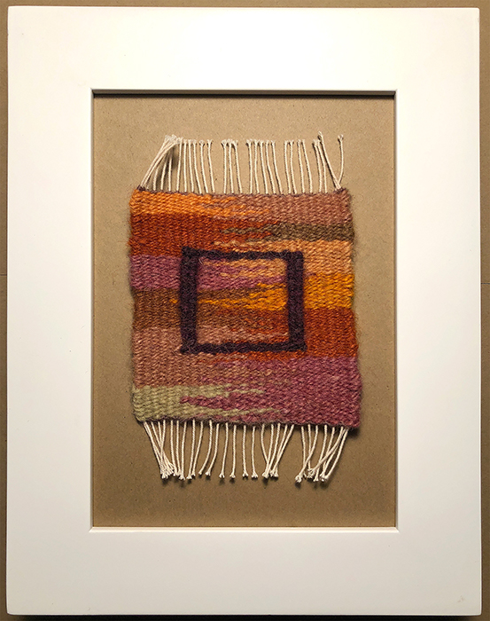 Image of tapestry weaving