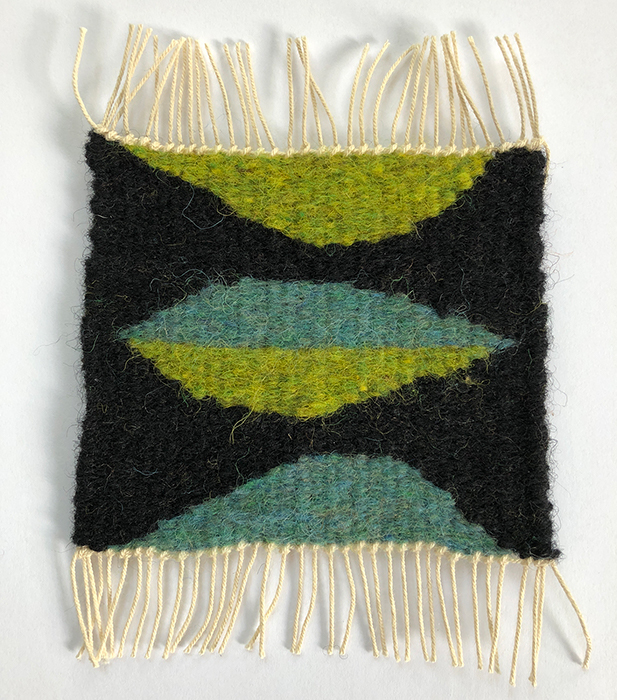 Image of finished weaving