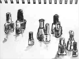 sketches of jars